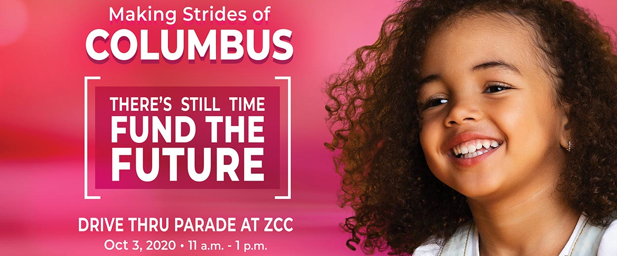 ZCC Making Strides Columbus banner